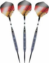 abcdarts Elkadart titanium black dartpijlen 90% tungsten - 22 gram