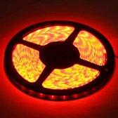 Epoxy Waterproof Rope Light, Lengte: 5 m, Rood licht 3528 SMD LED, 60 LED / m