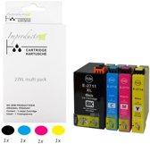 Improducts® Inkt cartridges - Alternatief Epson 27XL / 27 XL 4 stuks