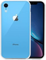 Magnetic Back Cover iPhone XR Zilver - Transparant