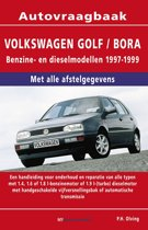 Vraagbaak VW Golf / Bora deel Benzine- en dieselmoedellen 1997-1999