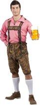 Boland Oktoberfetskleding Okotberkleding set Werner Bruin - XL - Carnavalskleding