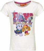 Paw Patrol shirt wit voor meisjes 98 (3 jaar)
