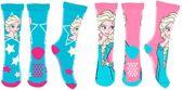 Frozen sokken antislip maat 27/31, 2 paar assorti