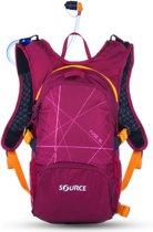 Source Rugzak - Unisex - paars/oranje