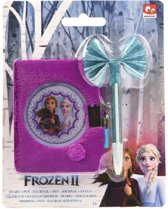 Disney Frozen 2 Dagboek Met Slot & Pen