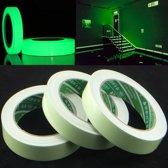 3M Glow in the dark tape - Lichtgevend tape - Lichtgevende tap - Nachtzicht - Traptreden - Muren - Fluorescerend - Fluorescerende - Reflecterende plakband - Reflecterend - Veiligheidstape - Plakband - Veiligheid - Markering - Markeringen