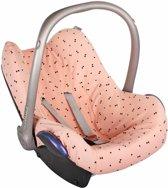 UKJE.NL Hoes zomerhoes autostoelhoes voor Maxi-Cosi Cabriofix, Citi en Pebble - Zandloper roze ♥