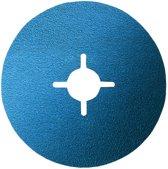 Bosch - Fiberschuurschijf voor haakse slijpmachine, zirkoonkorund 180 mm, 22 mm, 100