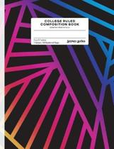 College Ruled Composition Book