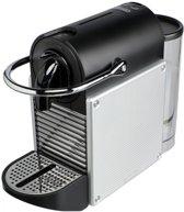 Nespresso De'Longhi Pixie EN 125 - Koffiecupmachine- Zilver