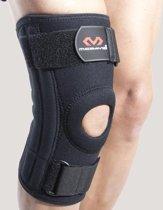 McDavid 421R Kniebrace - Met baleinen - Zwart - Small