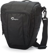 Lowepro Toploader Zoom 50 AW II Black |  cameratas incl. All weather regenhoes