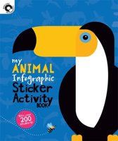 My Animal Infographic Sticker Activity Book