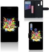 Huawei P Smart Z Leuk Hoesje Cat Color