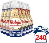 Robijn Intense Amour de Fleurs wasverzachter - 8x30 wasbeurten -  voordeelverpakking