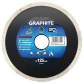 Graphite 57H646 Diamantschijf 230x22x6,0x2,7mm, Continuous, MPA EN13236