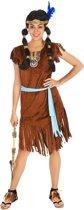 dressforfun 300621 Vrouwenkostuum Indianenvrouw Phoenix voor dames vrouwen S verkleedkleding kostuum halloween verkleden feestkleding carnavalskleding carnaval feestkledij partykleding