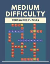 Medium Difficulty Crossword Puzzles