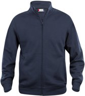 Clique Basic cardigan Donker Navy maat M
