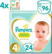 Pampers Premium Protection - Maat 4 (Maxi) 9-14 kg - Maandbox 96 Stuks - Luiers