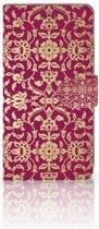 iPhone Xs Max Boekhoesje Design Barok Pink