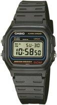 Casio W-59-1VQES - Horloge - Kunststof - Zwart - Ø 34 mm