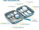 Babyjem BABY Grooming Kit, 9 Pieces, For Newborn, Blue