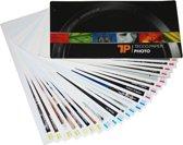 Tecco Inkjet Swatchbook Waaier 11,5 x 21 cm