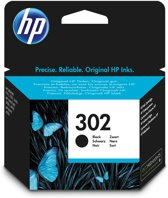 HP 302 - Inktcartridge / Zwart