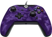 PDP Deluxe Controller - Programmeerbare Knoppen - Xbox One / Windows 10 - Paars Camo