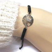 Bedel armbandje tree of life - 925 zilver