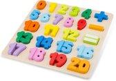 New Classic Toys - Legpuzzel - Getallen Puzzel