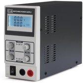 SCHAKELENDE DC-LABO VOEDING 0-30 VDC / 0-10 A MAX MET LCD-SCHERM