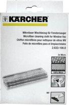 Kärcher Microvezel Vervangdoek Window Vac - 2 stuks