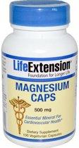 Magnesium Capsules 500 mg (100 Veggie Caps) - Life Extension
