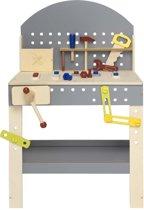 Kid 'n Joy houten werkbank Hammare 38 x 51 x 81 cm (lxbxh)