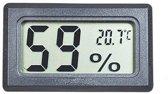 Professionele luchtvochtigheidsmeter - Zwart - Meet ook temperatuur - Voor buiten en binnen - 2 in 1 - Hygrometer