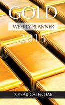 Gold Weekly Planner 2015