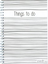 Planner - Things to do met lijntjes