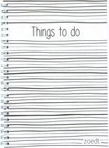 Planner - Things to do met lijntjes