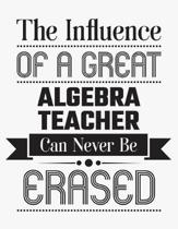 The Influence of a Great Algebra Teacher Can Never Be Erased