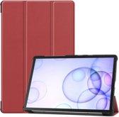 Samsung Galaxy Tab S6 Hoesje - Smart Book Case - Bruin