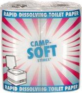 Stimex Wc-papier Camp Soft - 1-laags - 4 Stuks