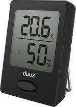 Duux Sense Hygrometer + Thermometer Zwart