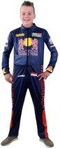 Race verkleed overall voor jongens -racing - coureur kostuum 152
