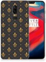 OnePlus 6 TPU bumper Franse Lelie