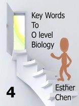 Key Words To O level Biology Success 4