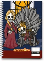 Calaveritas - Medieval notebook A5