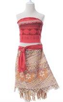 Vaiana jurk maat 104-110 Moana Prinsessen jurk (110) kostuum kind verkleedkleding